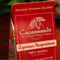 Cacaomundo Schokolade - Espresso Neapolitano