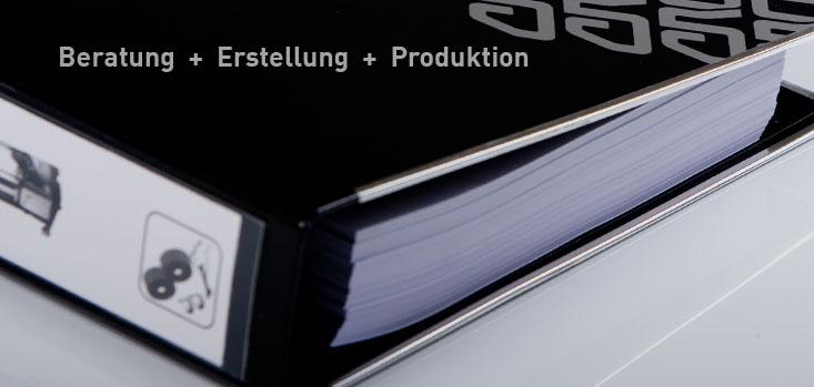 Beratung + Erstellung + Produktion