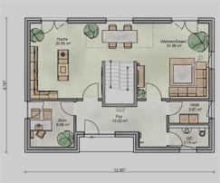 Grundriss einfamilienhaus modern erdgeschoss  Haus Garmisch - Härle baut Häuser zum Wohlfühlen