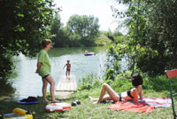 Urlaub am Baggersee des Schwarzfelder Hofes