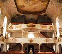 Landkreis Günzburg, Krumbach - Kirchenführung mit Harfe und Engelreigen