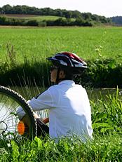 Schöne Radtour für den Familienurlaub: Elchingen - Langenau - Leipheim - Bibertal - Nersingen - Elchingen