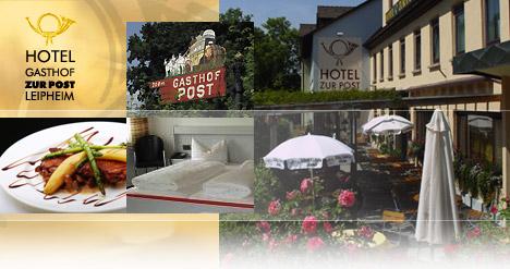 Herzlich Willkommen im Hotel Gasthof zur Post in Leipheim