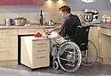 Rollstuhlgeeignete Küche behindertengerecht