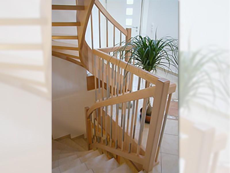 neubau treppen von renova. Black Bedroom Furniture Sets. Home Design Ideas
