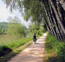Donauradwanderweg entlang Leipheim und Günzburg