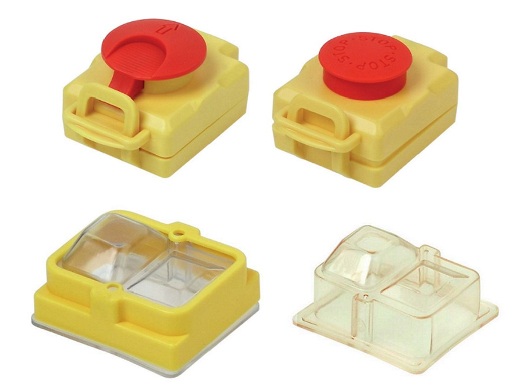Push button covers
