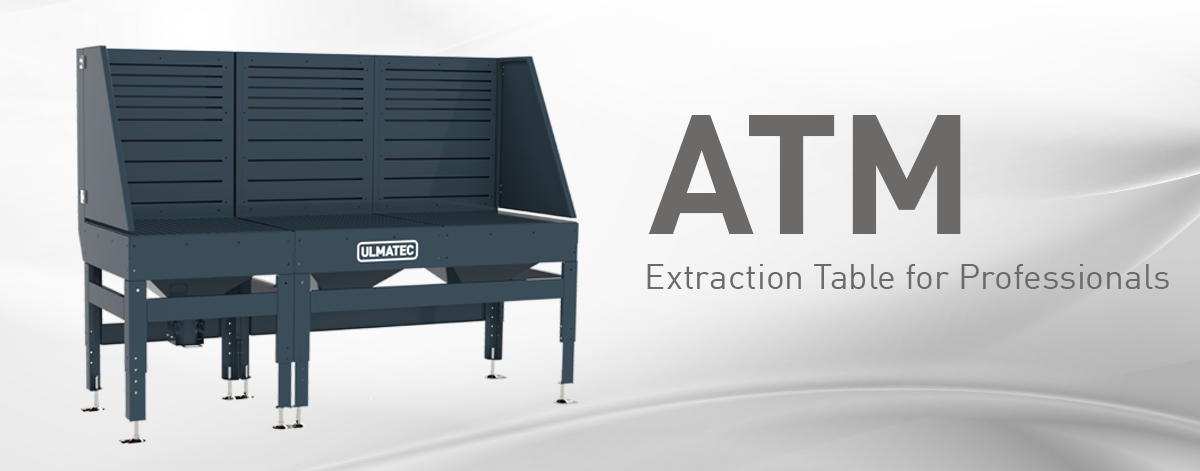The new ATM by ULMATEC | Extraction tables for professionals