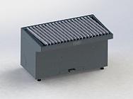 Absaugtisch ATU 1500-180-1 mit Plasmaauflage