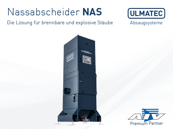 Broschüre Nassabscheider NAS | ULMATEC GmbH