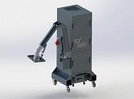 industrial deduster IES 2-8-2 / 2,2 MD mit APU