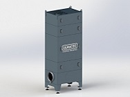 Industrieluftabsaugung ILA 1200-125-2-2 / 7,5 MD