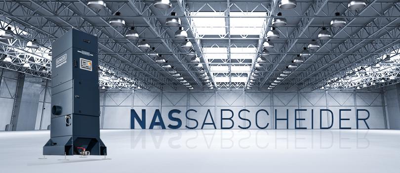 Nassabscheider NAS für brennbare und explosive Stäube | ULMATEC GmbH