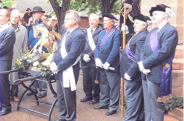 ST.GEORGS-STATUE 2010 beim Georgsfest
