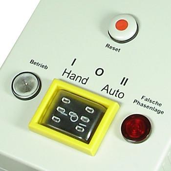 Motorschutzstecker und Pumpenschalter