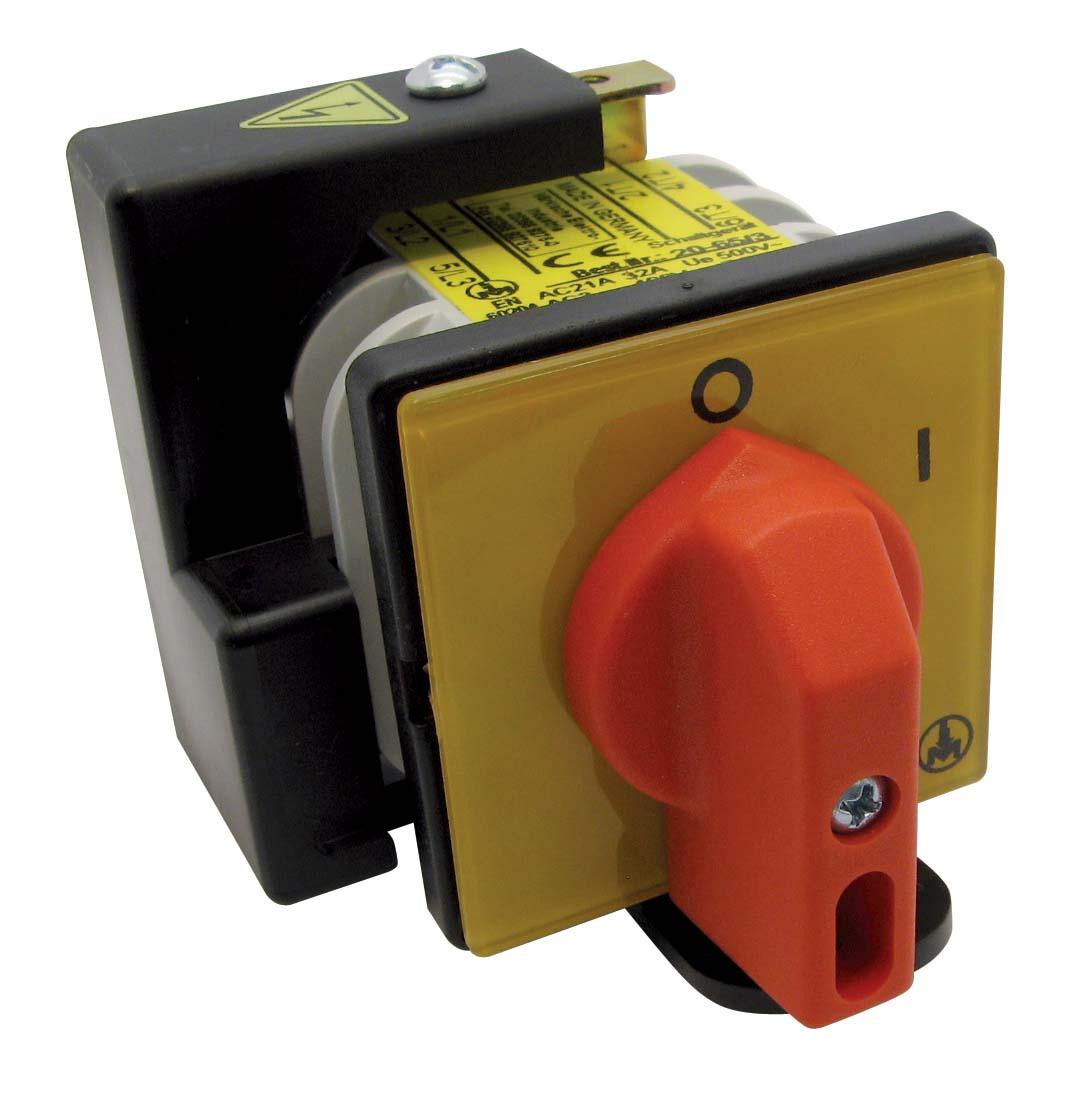 Reparaturschalter und Wartungsschalter