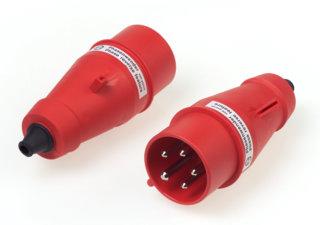 CEE-Phasenwender-Stecker 3P+N+E (16A)