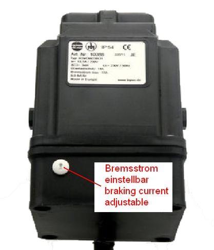 Motorstarter D 230V | Tripus Online-Shop | Anbauschalter