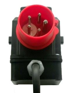 Motor starter d 400v built on switch for Nord gear motor 3d model