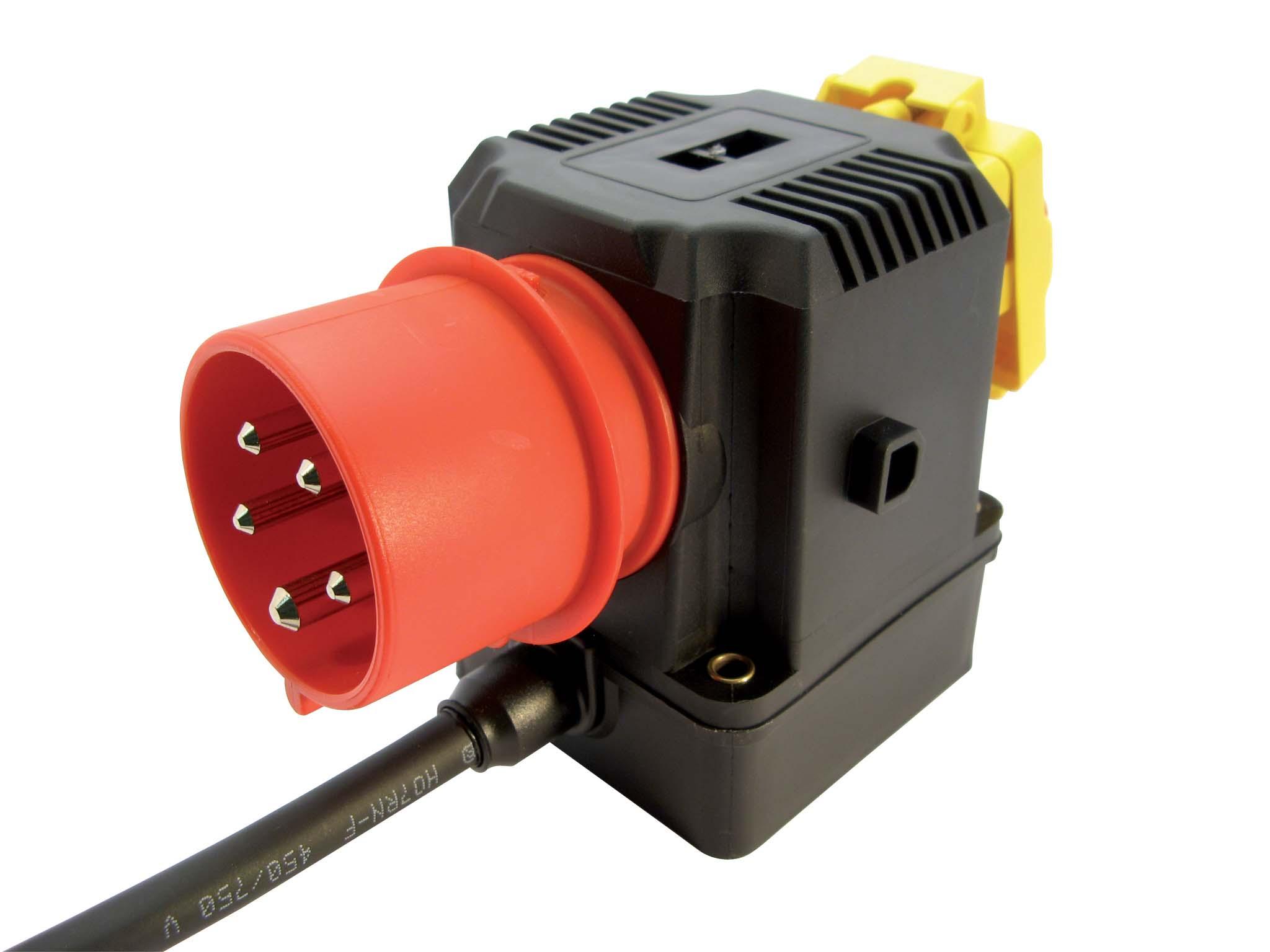Motor starter D 400V - built-on switch with reverse switch (left ...