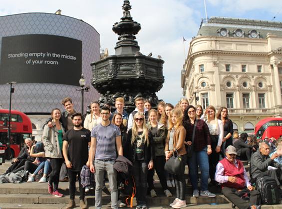 Studienfahrt London | Azubi bei ULMATEC Absaugtechnik