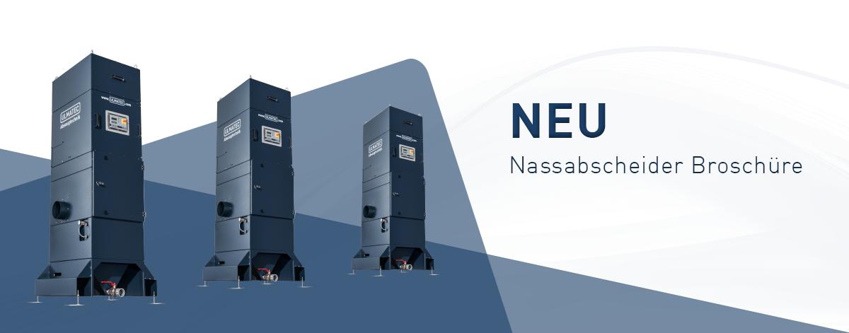 Neue Nassabscheider Broschüre | ULMATEC GmbH