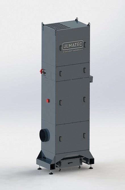 Industrierauchfilter IRF 100-4-3 / 11 MD
