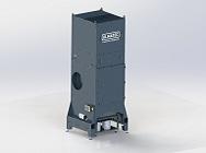 Industrierauchfilter IRF 100-4-4 / 7,5 MD